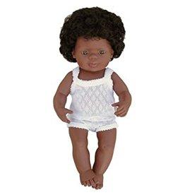 Miniland Baby Doll: African American Girl