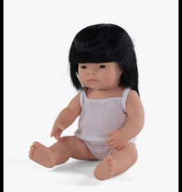 Miniland Baby Doll: Asian Girl