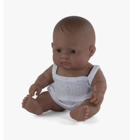 Miniland Newborn Doll: Hispanic Girl