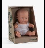 Miniland Newborn Doll: Caucasian Girl