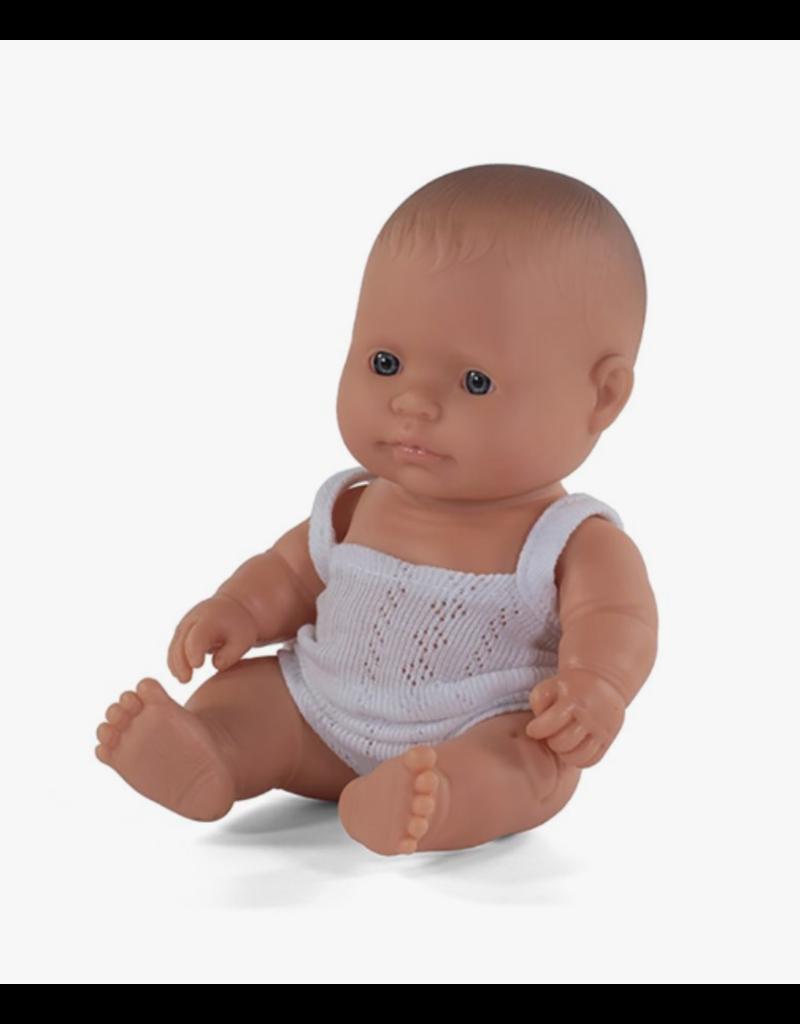 Miniland Newborn Doll: Caucasian Boy