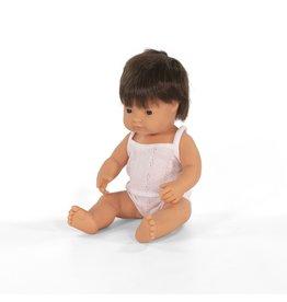 Miniland Baby Doll: Brunette Boy