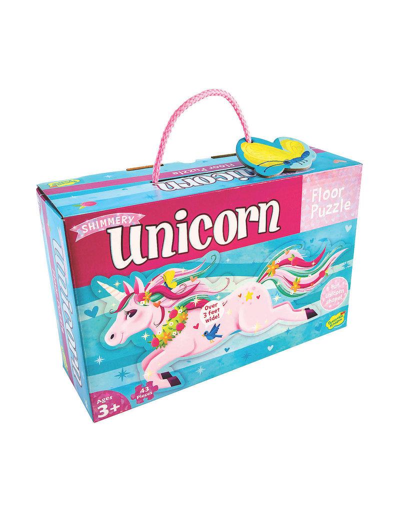 Floor Puzzle: Shimmery Unicorn