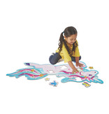 Peaceable Kingdom Floor Puzzle: Shimmery Unicorn