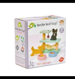 Tender Leaf Pet Cats Set