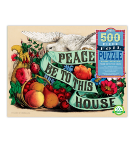 Eeboo 500 Pcs: Peace Be To This House Puzzle