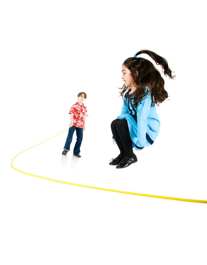 Just Jump It 16' Jumprope Rainbow - Red