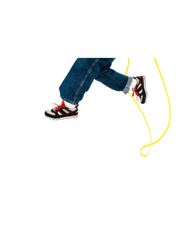Just Jump It 8' Jumprope Confetti Red