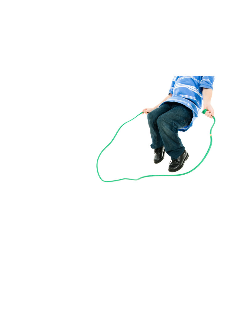 Just Jump It 8' Jumprope Confetti: Royal Blue