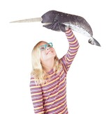Folkmanis Hand Puppet: Narwhal
