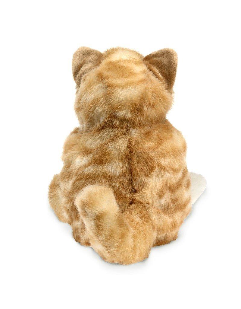Folkmanis Hand Puppet: Orange Tabby Kitten