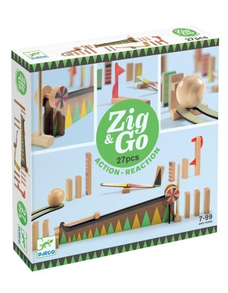 Djeco Zip & Go: 27pcs