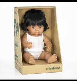 Miniland Baby Doll: Hispanic Girl