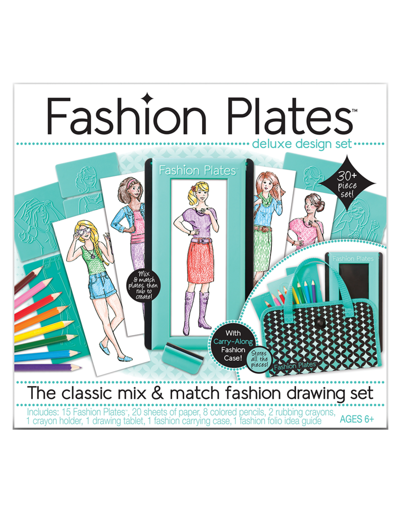 Play Monster Fashion Plates Deluxe Kit