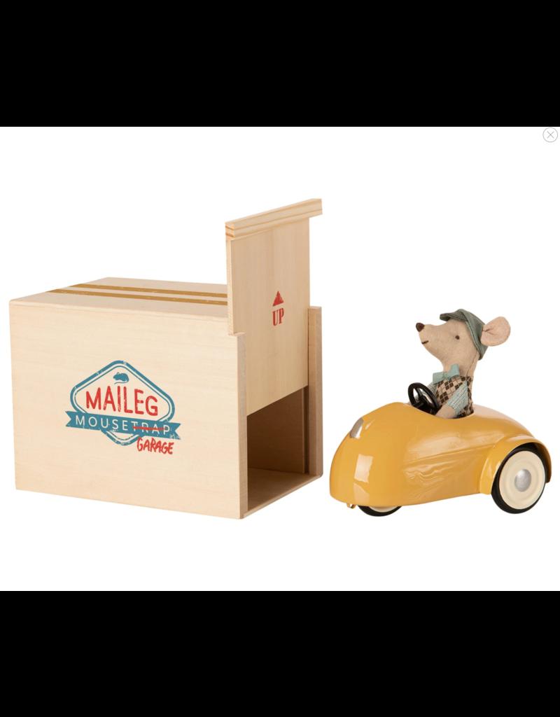 Maileg Mouse, Car & Garage