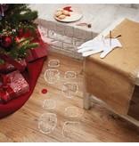 Mud Pie Santa Evidence Kit