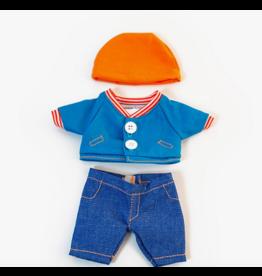 Miniland Miniland Baby Clothes: Mild Weather Jean Set