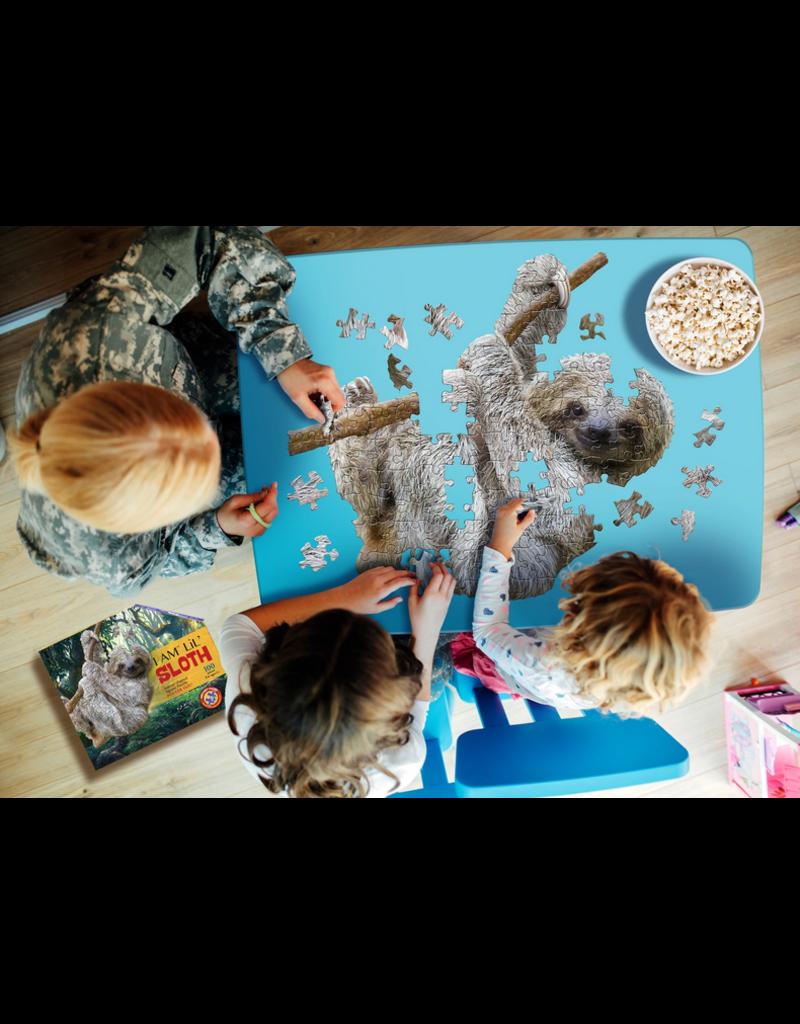 MaddCapp I AM Lil SLOTH Puzzle: 100 pcs