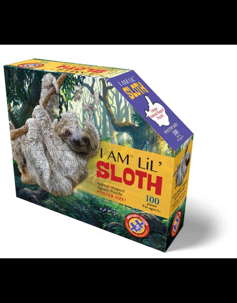 MaddCapp 100 Pcs: Shaped Puzzle - I am Sloth