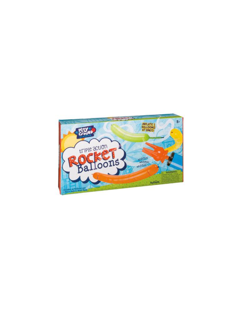 Toysmith Triple Action Rocket Balloon