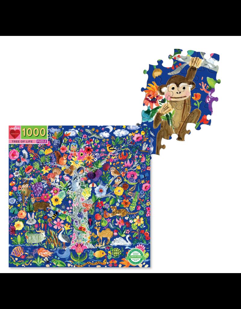 Eeboo 1000 Pcs: Tree of Life Puzzle
