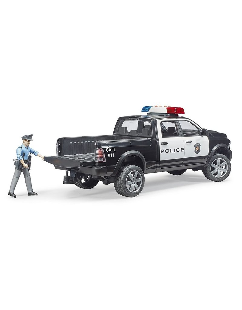 Bruder Police Truck w/Policeman