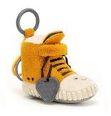 Jellycat Kicketty Sneaker Activity Toy