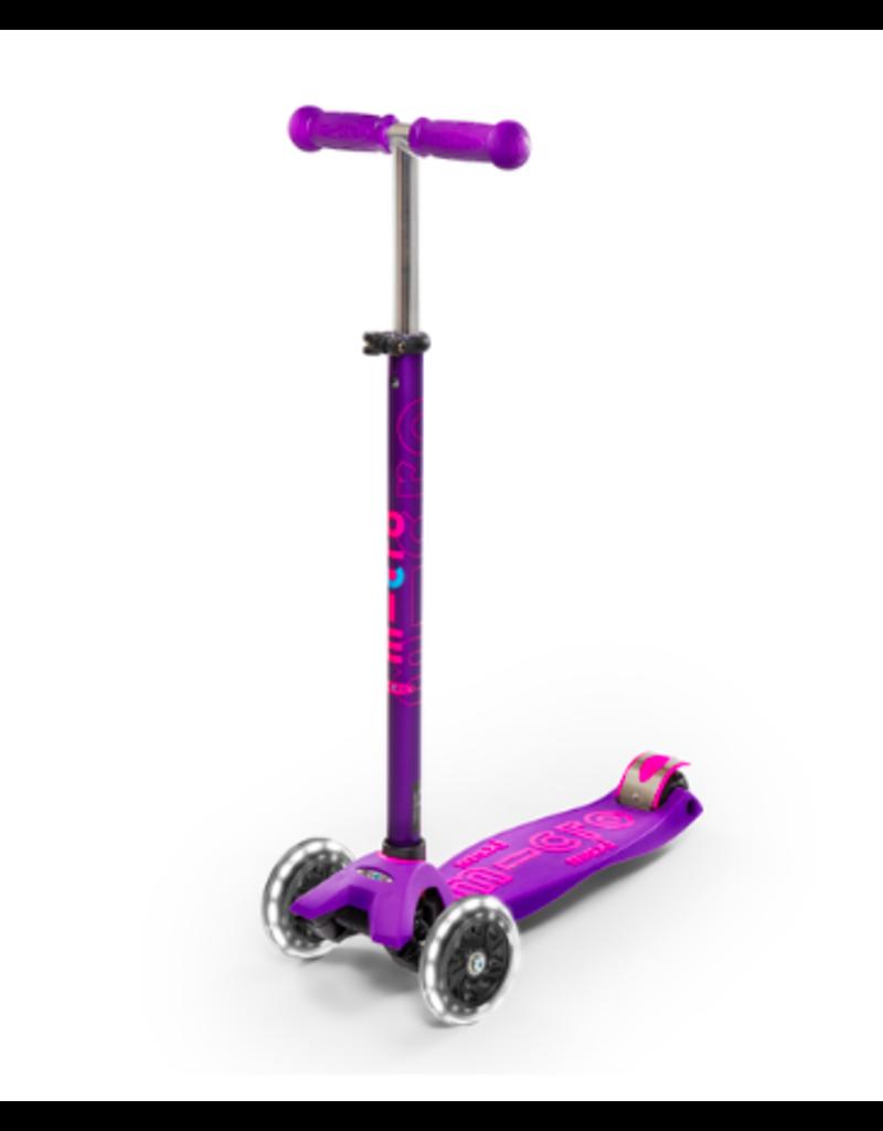 Micro Kickboard Micro MAXI LED deluxe Scooter