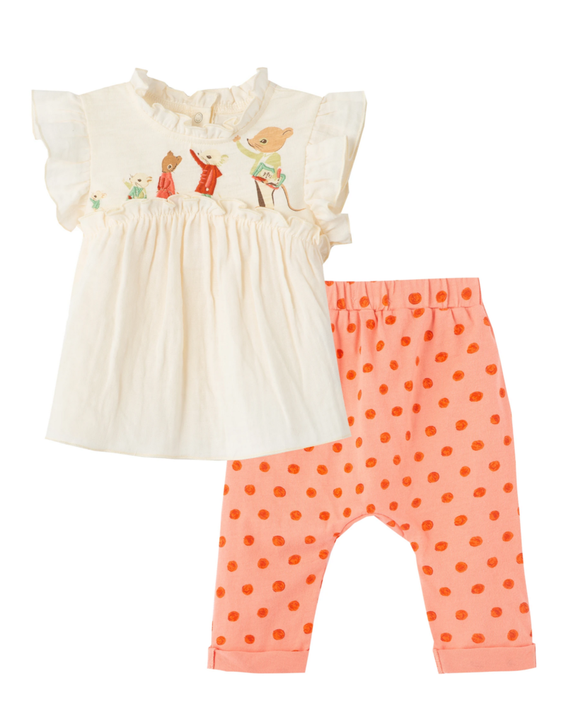 Peek The Wonderful Things You Will Be: Family Pant Set