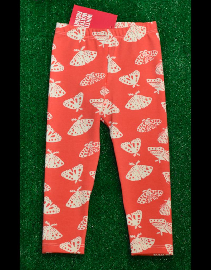 Winter Water Factory Baby Leggings: Moth