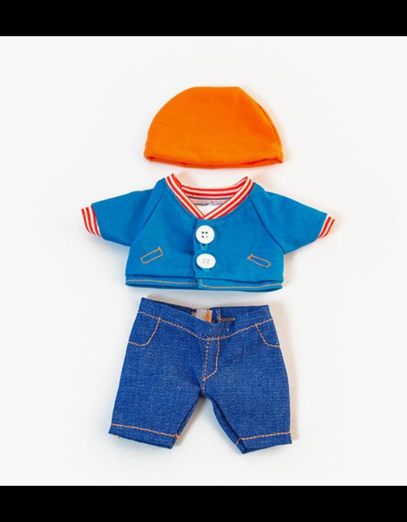 Miniland Newborn Doll Clothes: Jean Set