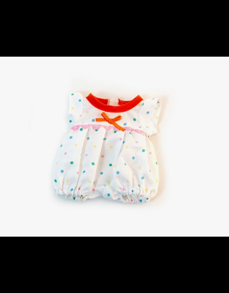 Miniland Newborn Doll Clothes: Dots PJ's
