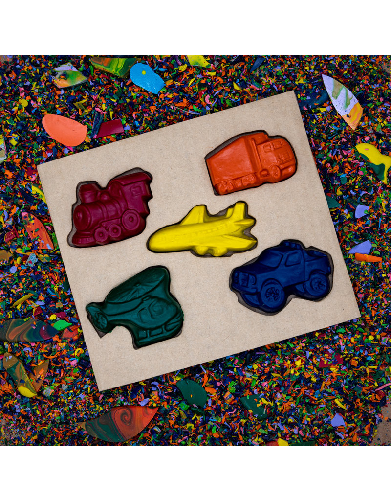 Crazy Crayons Transportation Crayon Set