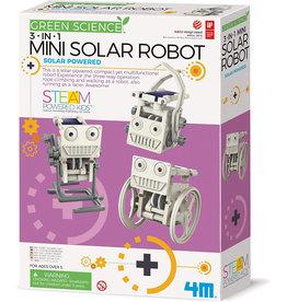 Toysmith Mini Solar Robot 3 In 1