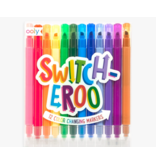 Ooly Switch-eroo! Color-Changing Markers 2.0 (Set of 12)