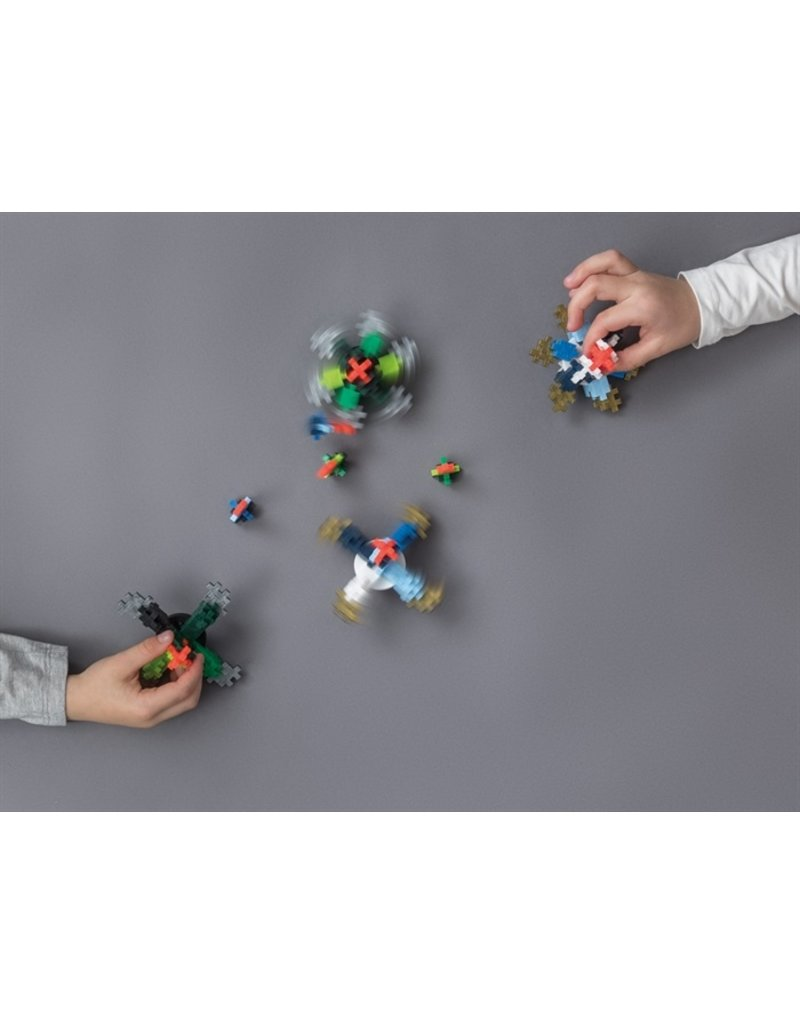 Plus Plus Plus Plus Learn To Build: Spinning Tops