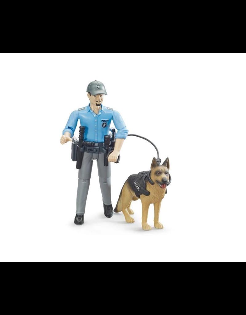 Bruder Policeman with Dog