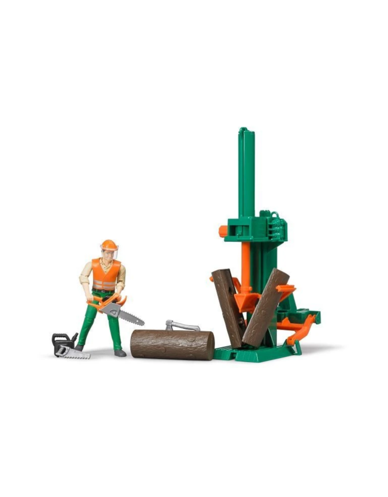 Bruder Logging Set With Man