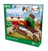 Brio Nordic Forest Animal Train Set