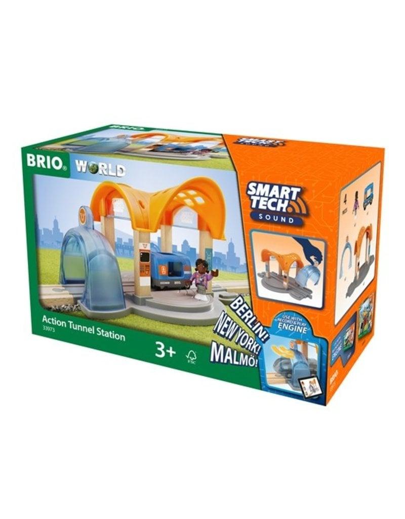 Brio Smart Tech Action Train Tunnel Station