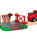 Brio Animal Farm Train Set