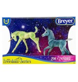 Breyer Zoe and Zander Unicorn Foals
