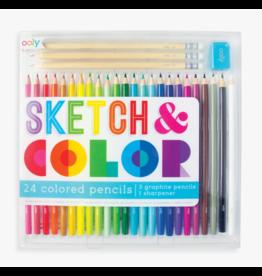 Ooly Sketch & Color Pencils