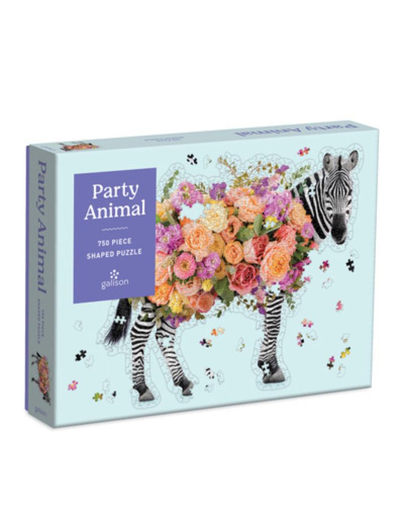 Chronicle Shaped Party Animal Puzzle: 750pcs