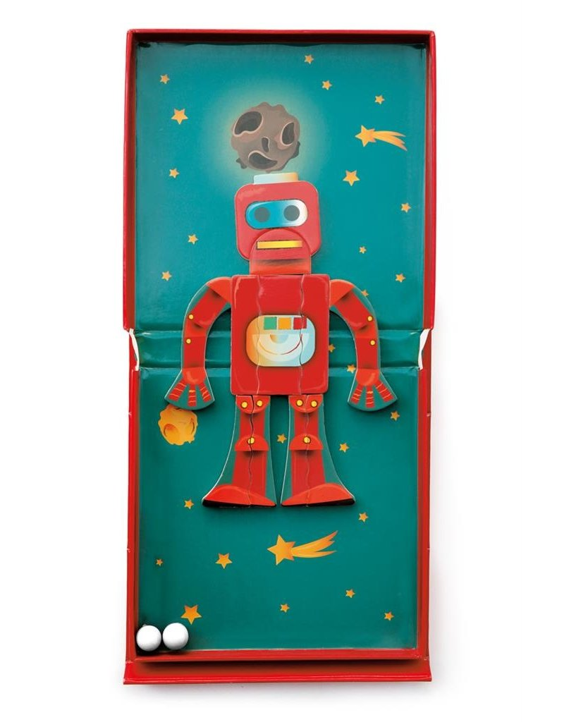 Magnetic Puzzle Run: Robot
