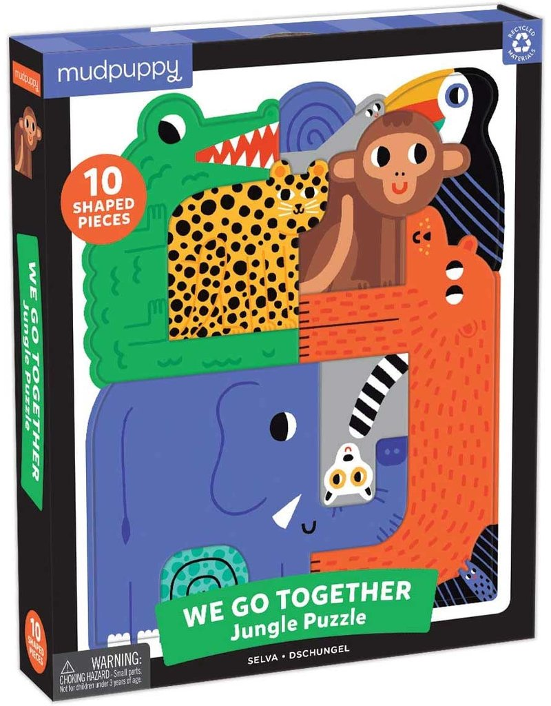 Chronicle We Go Together Jungle Puzzle 10 Pcs