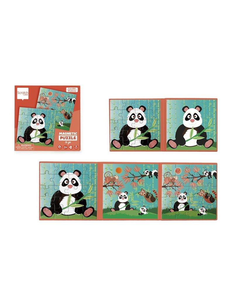 Magnetic Puzzle: Pandas