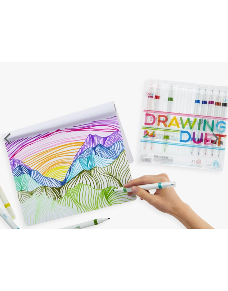Ooly Drawing Duet Double-Ended Markers