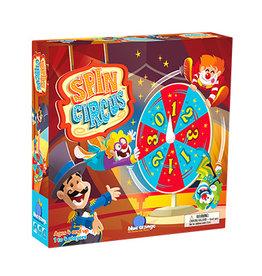 Blue Orange Spin Circus
