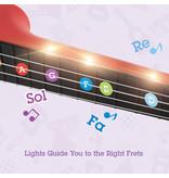 Hape Learn with Lights Ukulele - Red